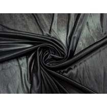 Slinky Knit- Wet Look Black #3042