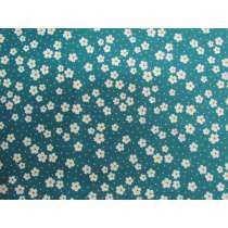 Daisy Street Cotton- Teal #PW1229
