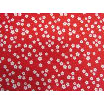Daisy Street Cotton- Red #PW1228