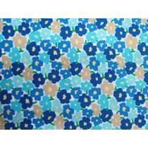 Playful Meadow Cotton- Blue #PW1273
