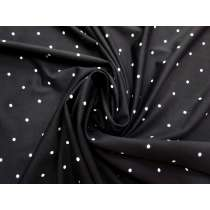 90cm Dot Spandex Panel- Ink #3065