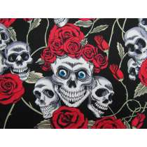 Skulls & Roses Cotton #PW1226