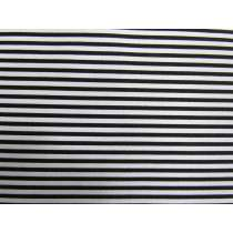 2mm Lines Cotton- Black & White #PW1231
