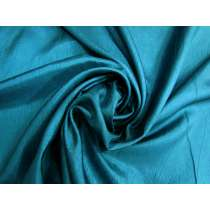 Lightweight Crinkle Polyester- Jewel Teal #4989