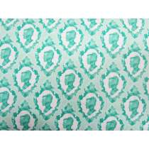 Ardently Austen Cotton- Teal #3124