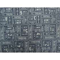 Play Ball Cotton- Navy #3130