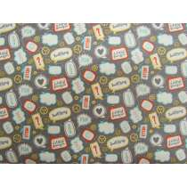 Little Flyers Cotton- Grey #3138