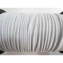 3mm Bungee Cord Elastic- White #499