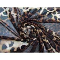 Luscious Leopard Stretch Mesh #5037