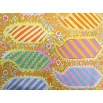 Kaffe Fassett Striped Herald- Gold