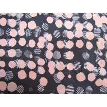 Anna Maria's Conservatory Cotton- Vestige- Woven Dots- Blush