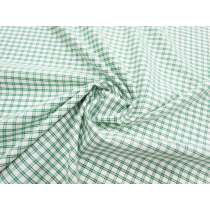 Picnic Check Shirting- Mint Green #3159