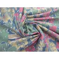*Seconds* Jungle Florals Jersey- Multi #5106- Reduced from $11.95m