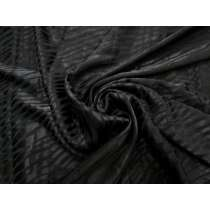 Animal Instinct Viscose Satin- Black #3262