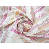 Patchwork Stripe Stretch Cotton #3273