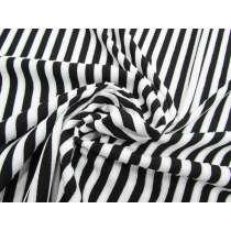 Glitter Black & White Stripe Knit #3292