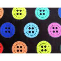 Dandelyne Delights Cotton- DV3637- Buttons Black