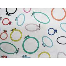 Dandelyne Delights Cotton- DV3636- Embroidery Hoops