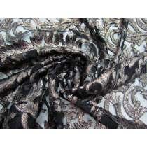 Ornate Lace Mesh- Dark Copper #3302