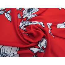 Blossom Crepe - Red #5111