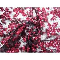 Romantic Sequin Lace Net #3319