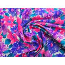 Dizzy Daisy Cotton Jersey- Purple / Pink #5120