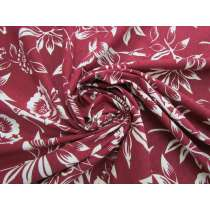 Natural Beauty Cotton Jersey- Maroon #5117