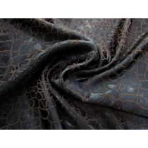 Chocolate Liquorice Crocodile Jacquard #1345