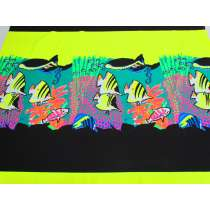 90cm Panel- Tropical Reef Cotton Jersey #5126