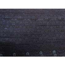 40mm Stretch Lace Trim- Midnight Dream #356