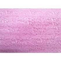 30mm Stretch Lace Trim- Rosey Pink #365