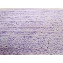 40mm Lace Trim- Candy Violet #363