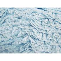 30mm Olivia Lace Frill Trim- Blue #377