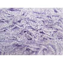 30mm Olivia Frill Lace Trim- Purple #375