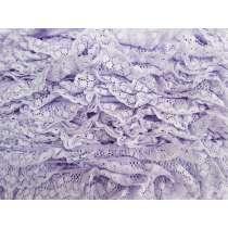 30mm Olivia Frill Lace Trim- Purple #375