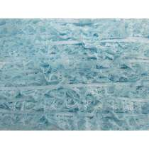 20mm Frill Lace Trim- Sky Blue #380
