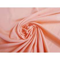 Lightweight Ribbed Jersey- Lolly Peach#5151