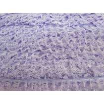 20mm Frill Lace Trim- Bright Lilac #379