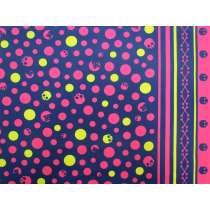 Skull & Bones Heavyweight Cotton- Navy/Pink #22