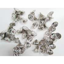12mm Swarovski Crystal Button FB172