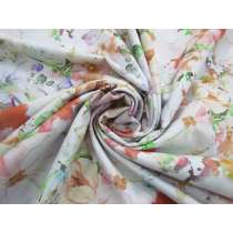 274cm Wide Quilt Backing Cotton- Dazzling Bouquet- Pastel #5170