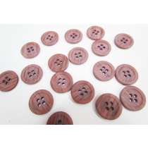 18mm Mauve Pink Fashion Button FB187