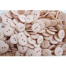 20mm Matte Peach Fashion Button FB191