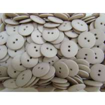 20mm Matte Grey Beige Fashion Button FB192