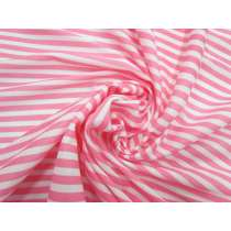 Soft Interlock Jersey- Rosy Stripe #5192