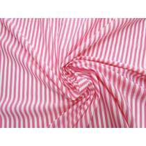 Stripe Cotton Blend Jersey- Bubbly Pink #5201