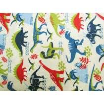 Dinosaur Adventures Cotton- Multi