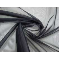 Rigid Nylon Tricot- Smokey Black #1453