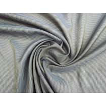 Double Pinstripe Lining- Dark Grey #1456