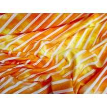 Tie Dye Striped Jersey- Sunset